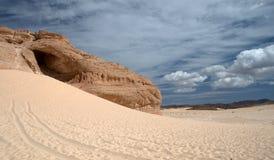 西奈沙漠 图库摄影
