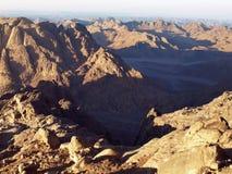 西奈沙漠 库存图片
