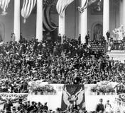 1905年西奥多・罗斯福的就职典礼 免版税库存照片