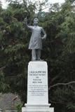 西姆拉Lala Lajpat Rai雕象在印度 库存图片