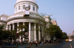 西孟加拉邦一般邮局的白色大厦  库存照片