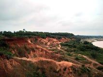西孟加拉邦大峡谷  库存图片
