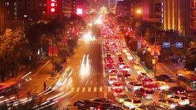 西安在晚上,中国交通  股票录像