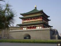 西安钟楼 免版税库存图片