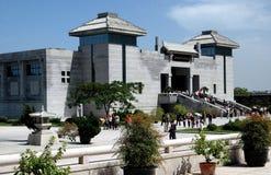 西安,中国: 赤土陶器战士博物馆 免版税库存照片