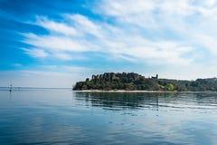 西尔苗内- Garda湖 免版税库存图片
