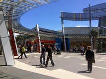 西尔维亚海峡公园购物中心奥克兰新西兰 免版税图库摄影