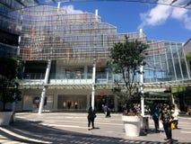 西尔维亚海峡公园购物中心奥克兰新西兰 免版税库存图片