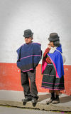 西尔维娅,波帕扬,哥伦比亚- 11月, 24 :Guambiano土产p 图库摄影