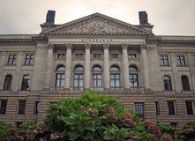 西德参议院的位子 库存照片