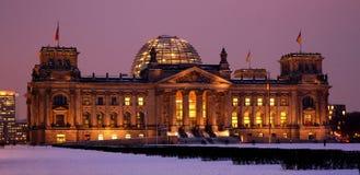 西德联邦议会 库存照片