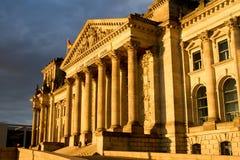 西德联邦议会 免版税图库摄影