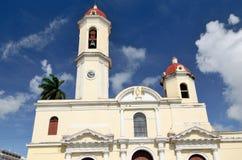 西恩富戈斯,古巴大教堂  免版税库存图片