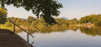 西摩拉瓦河河 库存图片