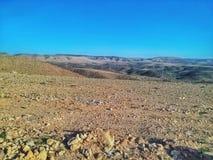 西撒哈拉的沙漠 免版税库存图片