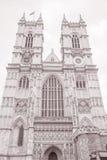 西敏寺门面,伦敦 免版税库存图片