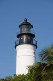西方佛罗里达关键的灯塔 免版税库存照片