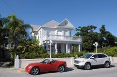 西方佛罗里达关键的街道 库存图片