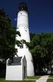 西方关键的灯塔 库存照片