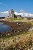西方古老城堡爱尔兰的爱尔兰语 免版税库存照片