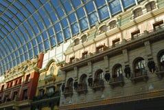 西方埃德蒙顿的购物中心 图库摄影