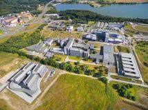 西方波希米亚的大学 免版税库存照片