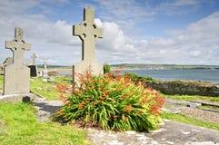 西方海岸严重爱尔兰的站点 库存图片
