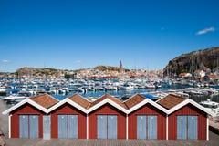 西方海岸的瑞典 库存图片