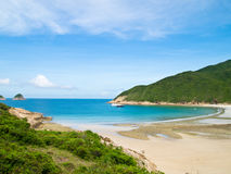 西方海湾大香港的通知 库存图片