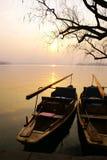 西方瓷的湖s 图库摄影