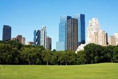 西方的中央公园 库存图片