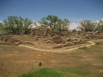 西方的废墟 库存图片