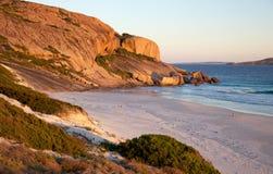西方的海滩 免版税库存图片