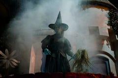 西方的邪恶的巫婆 库存图片