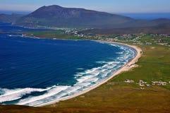 西方空中获取爱尔兰的sescape 免版税库存图片
