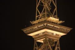 西方第11个柏林的无线电铁塔 图库摄影