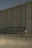 西方银行以色列的墙壁 免版税库存照片