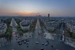 巴黎西方  库存图片