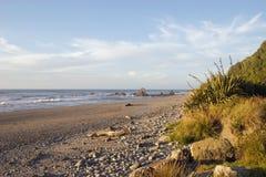 西方02个海滩的海岸 库存图片