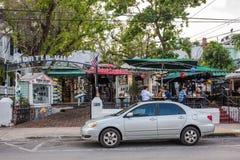西方duval佛罗里达关键的街道 库存照片