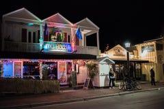 西方duval佛罗里达关键的街道 库存图片