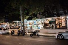 西方duval佛罗里达关键的街道 免版税图库摄影