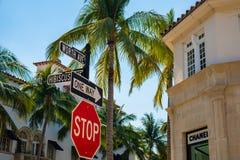 西棕榈海滩都市风景 库存照片