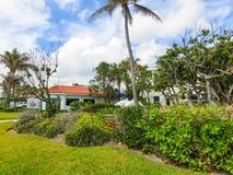 西棕榈海滩,佛罗里达2018年5月-7 :在棕榈滩,佛罗里达,美国的中心 免版税库存图片