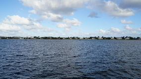 西棕榈海滩在佛罗里达 库存照片