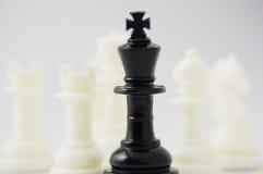西洋棋棋子 免版税库存图片