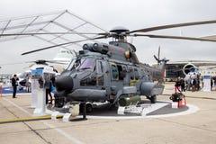 巴西海军欧洲直升机公司超级美洲狮直升机 库存图片