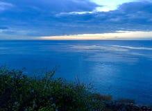 西海岸圣佩德罗火山加利福尼亚 库存图片