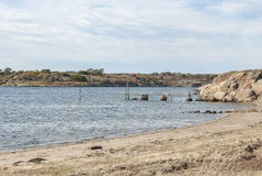 西海岸瑞典春天 免版税库存图片