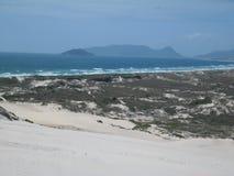 巴西海滩 免版税图库摄影